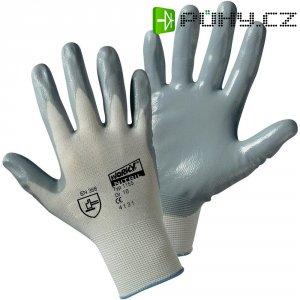 Pracovní rukavice Worky 1155, nylon s nitrilovým nátěrem na dlani, velikost 10