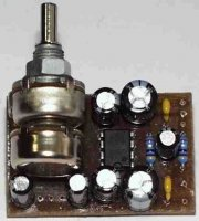 Zesilovač pro sluchátka, stereo, STAVEBNICE