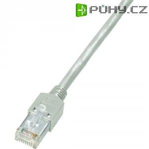 Patch kabel Dätwyler CAT 5 S/ UTP, 0,5 m, šedá