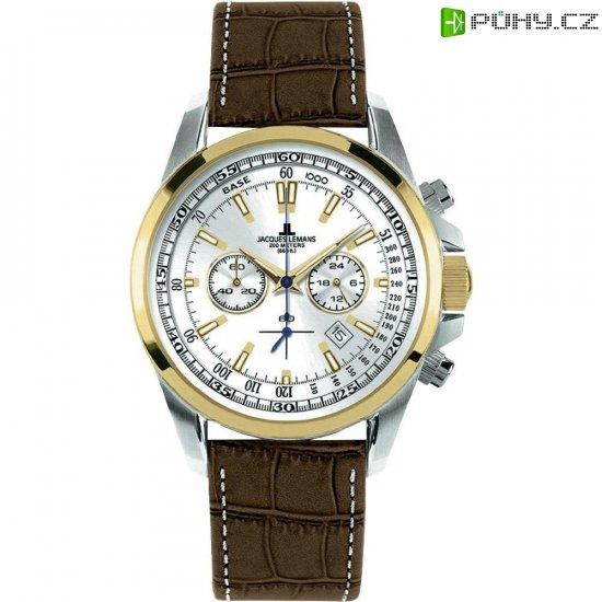 Ručičkové náramkové hodinky Jacques Lemans Liverpool 1-1117DN - Kliknutím na obrázek zavřete