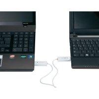 Přepínač KVM a datový kabel j5create, bílý, 1,8 m, Windows a MAC