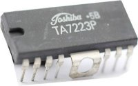 TA7223P - nf předzesilovač+konc.stupeň 1W