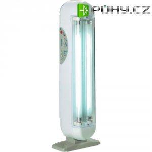 Úsporná akumulátorová svítilna IVT KN-320, max. doba svícení 6 h, 230 V/AC, bílá/šedá