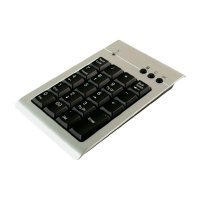 USB numerická klávesnice, LogiLink ID0008, stříbrná