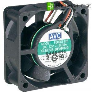 PC větrák s krytem AVC F6025 (š x v x h) 60 x 60 x 25 mm
