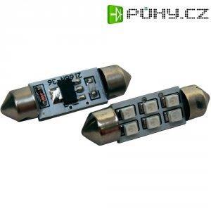 SMD LED sufitka Eufab, 13298, 1 W, S8.5, 36 mm, modrá