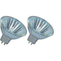 Halogenová žárovka Osram, 12 V , 20 W, GU5.3, Ø 51 mm, stmívatelná, teplá bílá, 2 ks