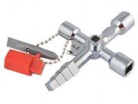 Univerzální křížový klíč na rozvodné skříně