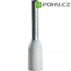 Dutinky s plastovým límcem Vogt Verbindungstechnik 460208, 0,75 mm², 8 mm, bílá, 100 ks
