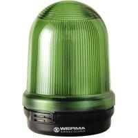 Signální světlo Werma, 826.200.00, 12 - 240 V/AC/DC, IP65, zelená