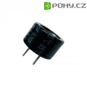 Kondenzátor elektrolytický Panasonic EECF5R5H474, 0,47 F, 5,5 V, 30 %, 9,5 x 21,5 mm