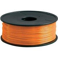 Náplň pro 3D tiskárnu, Renkforce ABS175O1, ABS, 1,75 mm, 1 kg, oranžová