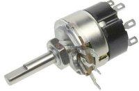25k/G TP281 32B, potenciometr otočný s vypínačem