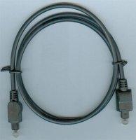 Kabel optický TOSLINK-TOSLINK 4mm/80cm DOPRODEJ,