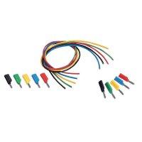 Sada měřicích kabelů banánek 4 mm ⇔ banánek 4 mm Voltcraft MS-4041, 1 m