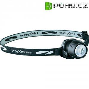 LED čelovka LiteXpress Liberty 105 LX209101, na baterii, 32 g, černá