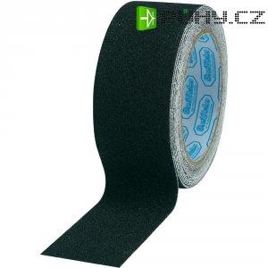 Protiskluzová páska 5 m x 25 mčerná, PVC