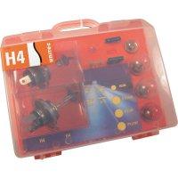 Kufřík s náhradními žárovkami H4
