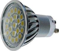 Žárovka LED GU10-21xSMD5050,bílá teplá,230V, DOPRODEJ