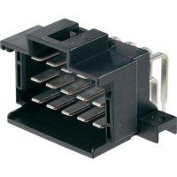 Konektor do DPS 12pól. TE Connectivity J-P-T (9-966140-3), zástrčka úhlová, 5 mm