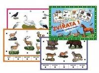Zvířata 1, stolní výuková hra