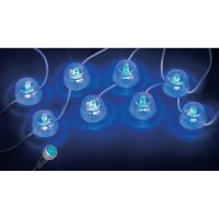 Dekorační LED osvětlení Eufab, 17689, 13,5 cm, modrá