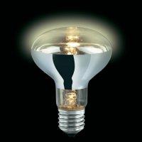 Halogenová žárovka Sygonix, E27, 60 W, 112 mm, stmívatelná, teplá bílá