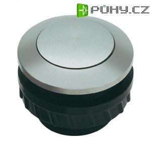 Zvonkové tlačítko Grothe Protact 62002, max. 24 V/1,5 A, hliník