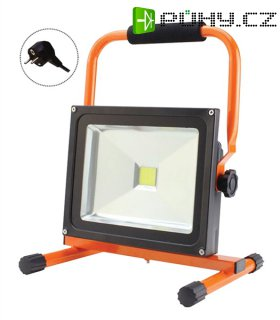 LED venkovní reflektor, 20W, 1400lm, přívodní kabel 1,2m, AC 230V, stojan