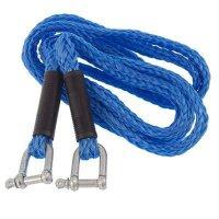 Tažné lano 4m 3000Kg, modré s oky