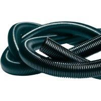 Elektroinstalační trubka ohebná Isolvin® IWS HellermannTyton IWS-22-N6-BK-L1 169-22220, 50 m