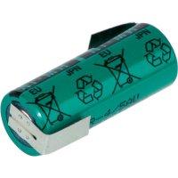 Akumulátor s pájecími kontakty NiMH Sanyo 4/5 A, 1,2 V, 2150 mAh