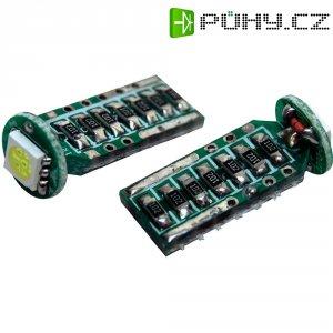SMD LED žárovka Eufab T10, 13520, 2 W, W2.1x9.5d, bílá, 2 ks