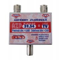Anténní slučovač AZP39,54+TV IEC