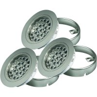 LED svítidlo, DF-1024F-3EU, 1,65 W, 30 cm, teplá bílá, 3 kusy