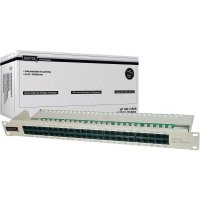 "Patchpanel 48 cm (19""), CAT3, 50 port, Digitus"