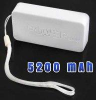 Externí baterie - powerbank 5200mAh, Li-ion