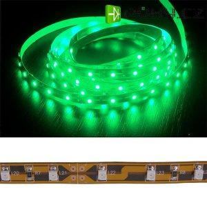 Led pásek samolepící zelený 12V šířka 8mm