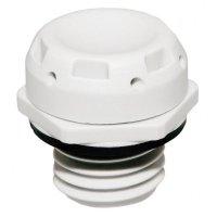 Tlakový vyrovnávací ventil Wiska EVSP 12 (10102370), IP69K, M12, polyamid, černá