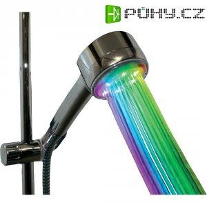 LED sprchová hlavice Hydas 8341, 8 x LED, duhová
