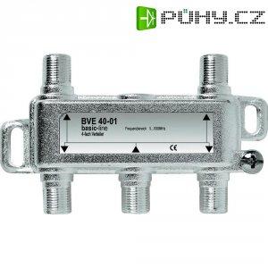 Anténní rozbočovač, 5 - 1000 MHz, 4násobný