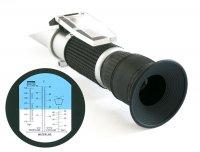 Refraktometr na měření provozních kapalin automobilu