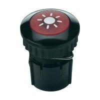 Zvonkové tlačítko podsvícené Grothe Protact 63032, max. 24V/1,5 A, černá