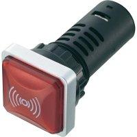 Sirénka, přerušovaný tón, >70 dB, 12 V/DC, 62 mm, 29.7 mm, IP65, červená