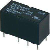 Subminiaturní DIP relé 24 V/DC 2 A Zettler Electronics AZ822-2C-24DE 1 ks