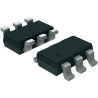 12bitový DA převodník I2C Microchip Technology MCP4725A0T-E/CH, SOT-23-6