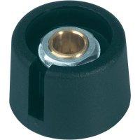 Otočný knoflík OKW A3023069, Ø 23 mm, 6 mm, černá