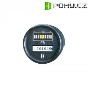 Kontrolér baterie a času Bauser, 830 24VDC, Ø 52 mm, IP67