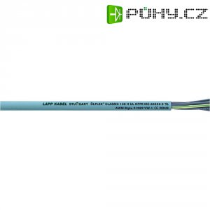 Datový kabel LappKabel Ölflex CLASSIC 130 H, 7 x 1 mm², stříbrnošedá, 1 m