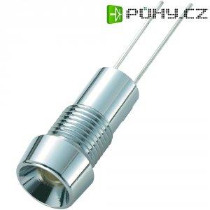 LED signálka SCI R9-126L Amber 12V, vnitřní reflektor 5 mm, jantarová